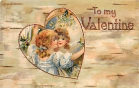 val310597 - Valentines Day Postcard