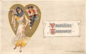 val310599 - Artist Samuel Schmucker? Valentines Day Postcard
