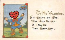 val310603 - Valentines Day Postcard