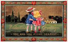 val310611 - Valentines Day Postcard