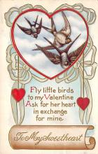 val310619 - Valentines Day Postcard