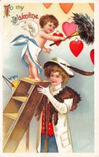 val310623 - Artist Ellen Clapsaddle Valentines Day Postcard