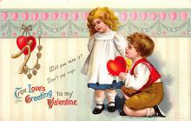 val310627 - Artist Ellen Clapsaddle Valentines Day Postcard