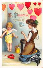 val310629 - Artist Ellen Clapsaddle Valentines Day Postcard