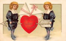 val310635 - International Art Pub. Co. Artist Ellen Clapsaddle Valentines Day Postcard