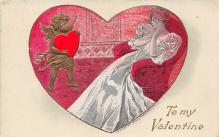 val310637 - Artist Fred C. Lounsbury Valentines Day Postcard
