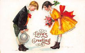 val310655 - Artist Ellen Clapsaddle Valentines Day Postcard