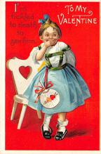 val310657 - International Art Pub. Co. Valentines Day Postcard