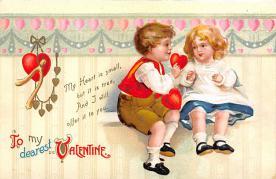 val310661 - Artist Ellen Clapsaddle Valentines Day Postcard