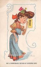 vin001006 - Vinegar Valentine Post Cards, Old Vintage Antique Postcards