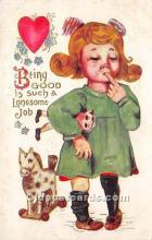 vin001012 - Vinegar Valentine Post Cards, Old Vintage Antique Postcards