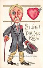 vin001013 - Vinegar Valentine Post Cards, Old Vintage Antique Postcards