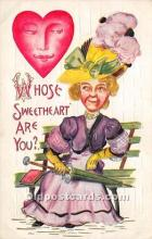 vin001016 - Vinegar Valentine Post Cards, Old Vintage Antique Postcards