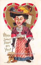 vin001017 - Vinegar Valentine Post Cards, Old Vintage Antique Postcards