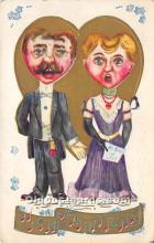 vin001018 - Vinegar Valentine Post Cards, Old Vintage Antique Postcards