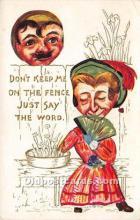 vin001019 - Vinegar Valentine Post Cards, Old Vintage Antique Postcards