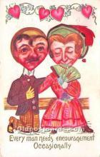 vin001021 - Vinegar Valentine Post Cards, Old Vintage Antique Postcards