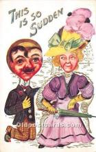 vin001025 - Vinegar Valentine Post Cards, Old Vintage Antique Postcards
