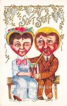 vin001026 - Vinegar Valentine Post Cards, Old Vintage Antique Postcards