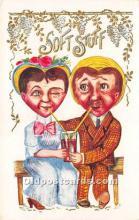 vin001026 - Vinegar Valentine Post Cards, Old Vintage Antique Postcards