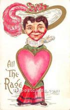 vin001027 - Vinegar Valentine Post Cards, Old Vintage Antique Postcards