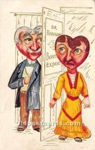 vin001028 - Vinegar Valentine Post Cards, Old Vintage Antique Postcards