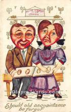 vin001029 - Vinegar Valentine Post Cards, Old Vintage Antique Postcards
