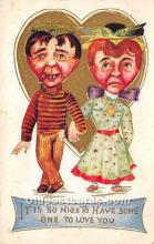 vin001030 - Vinegar Valentine Post Cards, Old Vintage Antique Postcards