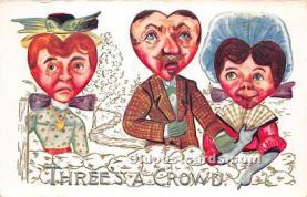 vin001031 - Vinegar Valentine Post Cards, Old Vintage Antique Postcards