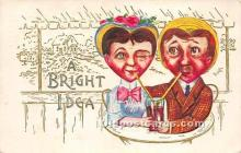 vin001033 - Vinegar Valentine Post Cards, Old Vintage Antique Postcards
