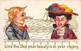 vin001035 - Vinegar Valentine Post Cards, Old Vintage Antique Postcards
