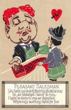 vin001037 - Vinegar Valentine Post Cards, Old Vintage Antique Postcards
