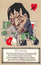 vin001038 - Vinegar Valentine Post Cards, Old Vintage Antique Postcards
