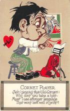 vin001043 - Vinegar Valentine Post Cards, Old Vintage Antique Postcards