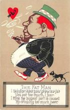 vin001045 - Vinegar Valentine Post Cards, Old Vintage Antique Postcards