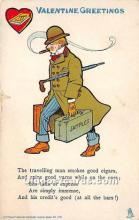 vin001046 - Vinegar Valentine Post Cards, Old Vintage Antique Postcards