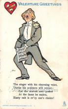 vin001049 - Vinegar Valentine Post Cards, Old Vintage Antique Postcards