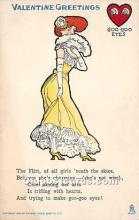 vin001051 - Vinegar Valentine Post Cards, Old Vintage Antique Postcards