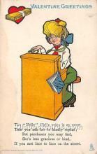 vin001052 - Vinegar Valentine Post Cards, Old Vintage Antique Postcards