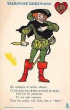 vin001053 - Vinegar Valentine Post Cards, Old Vintage Antique Postcards