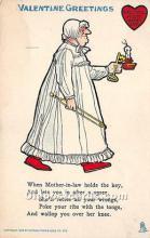 vin001055 - Vinegar Valentine Post Cards, Old Vintage Antique Postcards