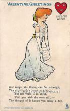 vin001056 - Vinegar Valentine Post Cards, Old Vintage Antique Postcards