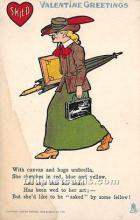 vin001057 - Vinegar Valentine Post Cards, Old Vintage Antique Postcards