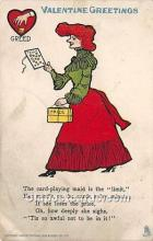 vin001059 - Vinegar Valentine Post Cards, Old Vintage Antique Postcards