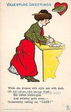 vin001060 - Vinegar Valentine Post Cards, Old Vintage Antique Postcards