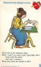 vin001061 - Vinegar Valentine Post Cards, Old Vintage Antique Postcards