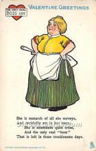 vin001063 - Vinegar Valentine Post Cards, Old Vintage Antique Postcards
