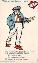 vin001066 - Vinegar Valentine Post Cards, Old Vintage Antique Postcards