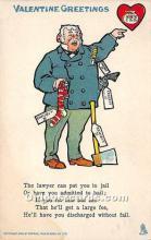 vin001068 - Vinegar Valentine Post Cards, Old Vintage Antique Postcards