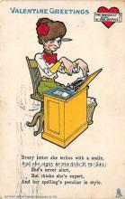 vin001070 - Vinegar Valentine Post Cards, Old Vintage Antique Postcards